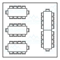 20 39 x 20 39 tent rental in new bern nc bear towne tents. Black Bedroom Furniture Sets. Home Design Ideas